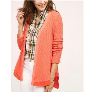 Anthropologie Left Of Center Evie Cardigan Sweater